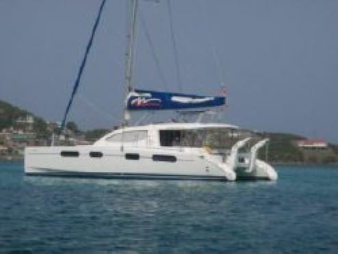 Preowned Sail Catamarans for Sale 2007 Leopard 46  Deck & Equipment